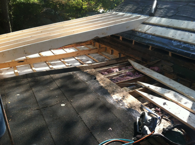 Demo and Framing the Roof